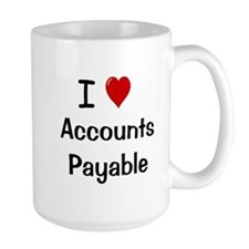Accounts Payable - I Love Accounts Payable Mugs
