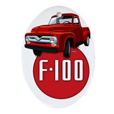 Second generation Ford F-100 Oval Ornament