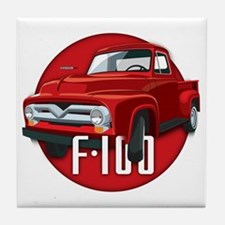 Second generation Ford F-100 Tile Coaster