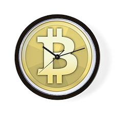Bitcoin Coin Wall Clock