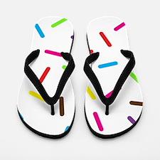 Sprinkles Flip Flops