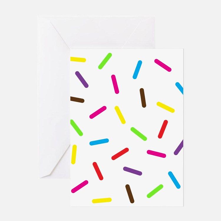 Sprinkles Greeting Cards