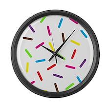 Sprinkles Large Wall Clock