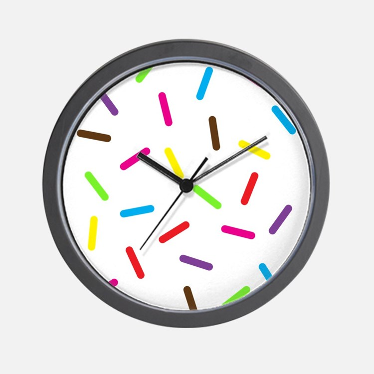 Sprinkles Wall Clock