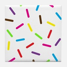 Sprinkles Tile Coaster