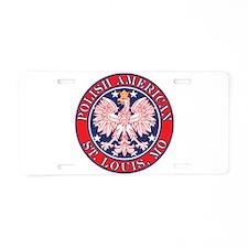 St. Louis Missouri Polish Aluminum License Plate