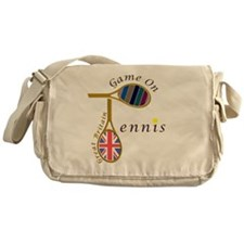 Great Britain Tennis Olympic Colours Messenger Bag