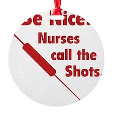 NurseShotsNice1D Ornament