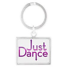 Just Dance Landscape Keychain