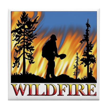 Wildfire Tile Coaster