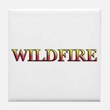 Wildfire Tile Coaster