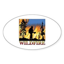 Wildfire Oval Decal
