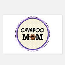 Cavapoo Dog Mom Postcards (Package of 8)