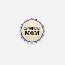 Cavapoo Dog Mom Mini Button