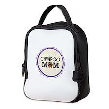 Cavapoo Dog Mom Neoprene Lunch Bag