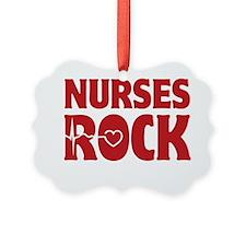 NursesRock1D Ornament