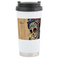 Marie de los Muertos coin purse Travel Mug