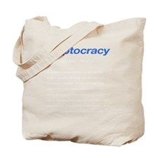 Ineptocracy Definition Tote Bag