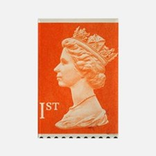 UK First Class Stamp Rectangle Magnet
