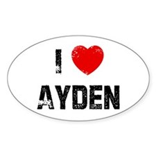 I * Ayden Oval Decal