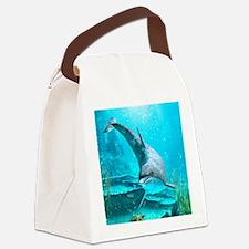 d_mens_wallet Canvas Lunch Bag