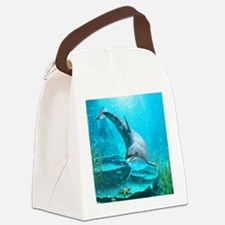 d_square_magnet Canvas Lunch Bag