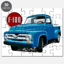 Illustration of a second generation blue Fo Puzzle