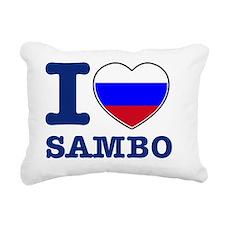 sambo Rectangular Canvas Pillow