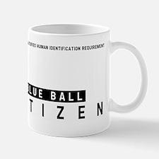 Blue Ball, Citizen Barcode, Mug