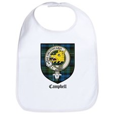 Campbell Clan Crest Tartan Bib