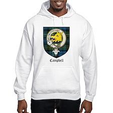Campbell Clan Crest Tartan Hoodie Sweatshirt