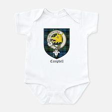 Campbell Clan Crest Tartan Infant Bodysuit