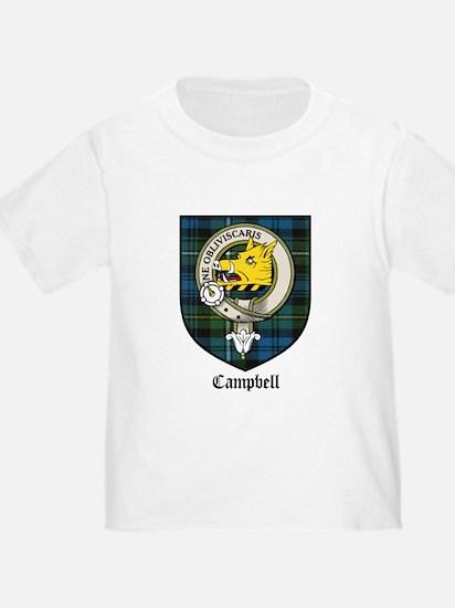 Campbell Clan Crest Tartan T