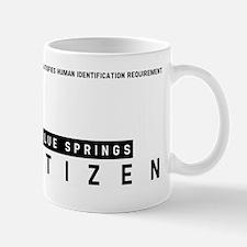 Blue Springs, Citizen Barcode, Mug