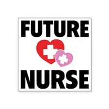 "futureNurse1A Square Sticker 3"" x 3"""
