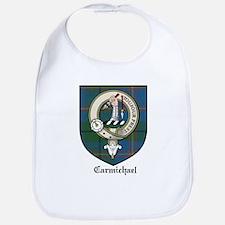 Carmichael Clan Crest Tartan Bib
