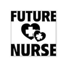 """futureNurse1F Square Sticker 3"""" x 3"""""""
