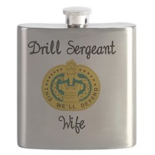 Drill Sergeant Wife Flask