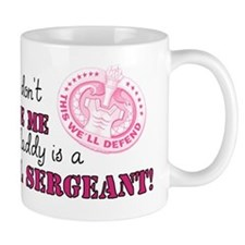 My Daddy is a Drill Sergeant 2 Small Mug