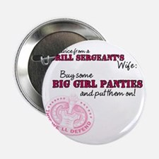 """Advice from a Drill Sergeants Wife 2.25"""" Button"""