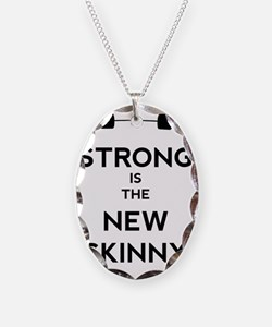 Strong is the New Skinny - Bar Necklace