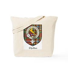 Chattan Clan Crest Tartan Tote Bag