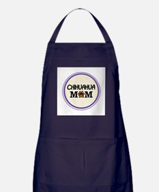 Chihuahua Dog Mom Apron (dark)