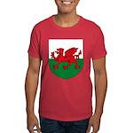 Welsh Coat of Arms Dark T-Shirt