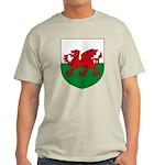Welsh Coat of Arms Light T-Shirt