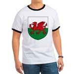 Welsh Coat of Arms Ringer T