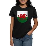 Welsh Coat of Arms Women's Dark T-Shirt
