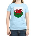 Welsh Coat of Arms Women's Light T-Shirt