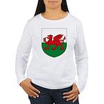 Welsh Coat of Arms Women's Long Sleeve T-Shirt
