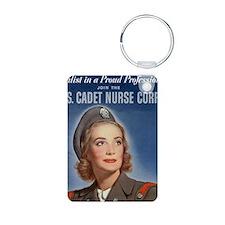 WWII US Army Nurse Recruit Keychains
